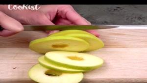 طرز تهیه پنکیک سیب خوشمزه برای صبحانه