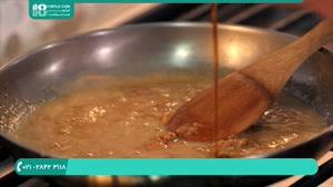 طرز پخت شیرینی کشمشی با استاد هایلا