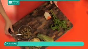 طرز تهیه پیتزا رژیمی خشمزه با سبزیجات