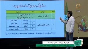 آموزش درس فارسی 2 پایه 11