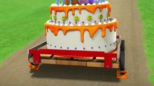 کارتون سگهای نگهبان با داستان کیک پختن