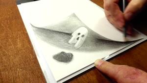 آموزش طراحی روح با مداد