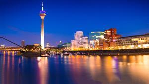 ویدیویی زیبا از شهر Düsseldorf آلمان