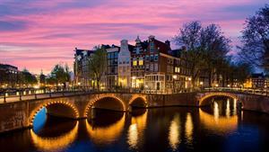 تصاویری زیبا از شهر آمستردام