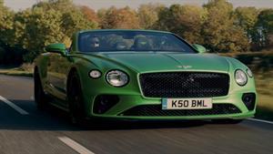 معرفی خودرو 2021 Bentley Continental GT V8 Convertible