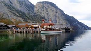 تصاویری دیدنی از دریاچه ای زیبا در آلمان