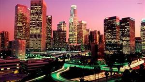 ویدیویی تماشایی از شهر لس آنجلس