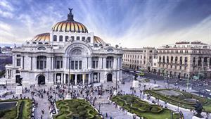 تصاویری دیدنی از شهر مکزیکو سیتی