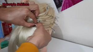 مدل موی عروسی برای موهای بلند
