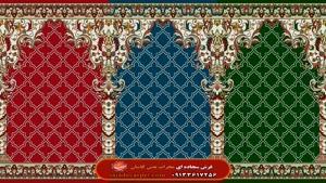 رونمایی از طرح جدید #فرش سجاده ای محراب نقش کاشان طرح#فردوس