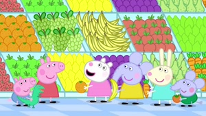 peppa pig - fruits