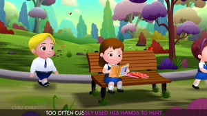 hands are for helping - chu chu tv