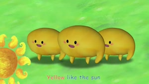 color song - yellow