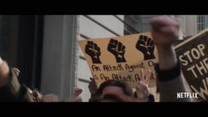 تریلر فیلم chicago 7   تیزر تبلیغاتی فیلم دادگاه شیکاگو هفت