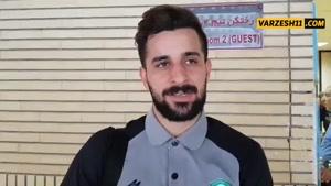مصاحبه بازیکنان ماشین سازی پس از تساوی مقابل نفت مسجد سلیمان