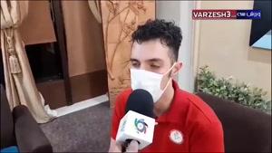 گفتوگوی اختصاصی با پوریا یلی ملیپوش والیبال