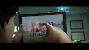 انیمیشن دوران فوتبالی لیونل مسی