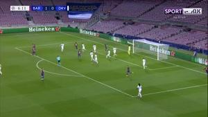 خلاصه بازی بارسلونا و دیناموکیف