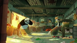 تریلر انیمیشن Kung Fu Panda _ The Secret of the Scroll