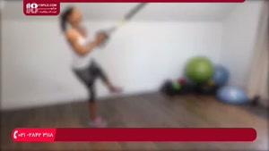 آموزش کامل حرکات تی آر ایکس ( لاغری شکم )