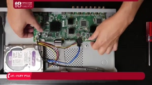 آموزش تعمیر ( دستگاه DVR ) که کند شده و خیلی داغ میکند