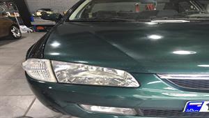 احیای رنگ بدنه خودرو