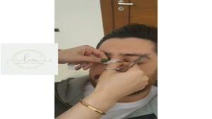 فیلم طریق چسب زدن بینی
