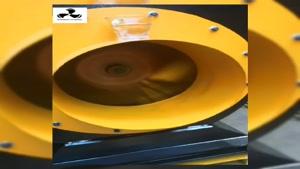 تست دستگاه سانتریفیوژ شرکت کولاک فنبدون صدا و لرزش0912186567