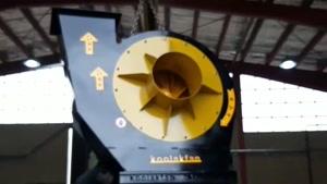 فن سانتریفیوژ  ۴۰ اسب سه هزار دور پروانه بکوارد فشار بالا