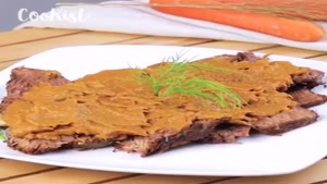 طرز تهیه کباب گوشت گاو با سس سبزیجات