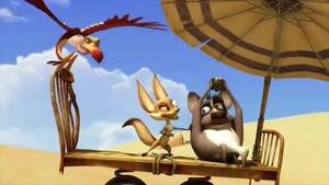 کارتون اسکار این داستان هوا خیلی گرمه!