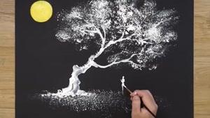 آموزش نقاشی زیبا با کمک آلومینیوم