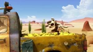 کارتون اسکار این داستان ذرت های خوشمزه