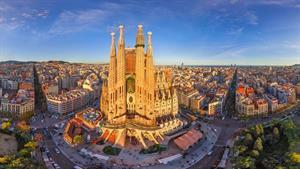 ویدیویی زیبا از شهر بارسلونا