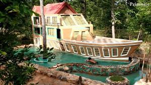 خونه جنگلی به شکل کشتی دیده بودین؟