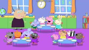 peppa pig - breakfast club- story
