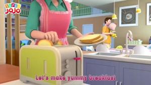 breakfast song - super jojo