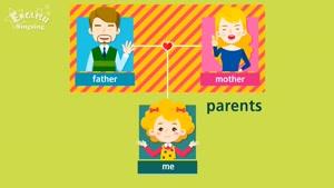 family members - kids vocabulary