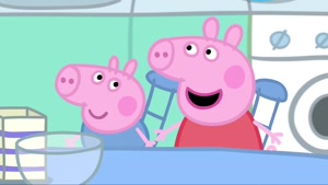 peppa pig - story - pancakes