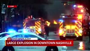 حجم خسارت انفجار مهیب آمریکا