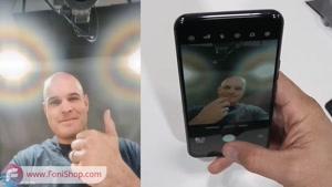 اولین گوشی با دوربین زیر صفحه نمایش؟!! - تست دوام - فونی شاپ