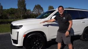 معرفی خودروی جدید Cadillac Escalade