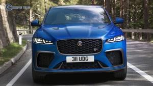 معرفی خودروی جدید Jaguar F-Pace SVR