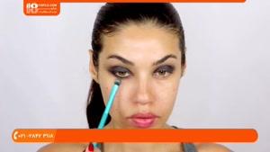 آموزش آرایش حرفه ای صورت فوق العاده زیبا