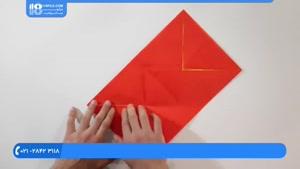 آموزش درست کردن اوریگامی شیر سه بعدی