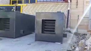 کوره های هوای گرم ساخت شرکت کولاک فن09121865671