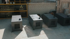 کوره هوای گرم ساخت شرکت کولاک فن09121865671