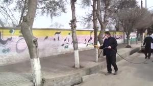 مردم اردبیل خودشان دست به کار شدند و ضدعفونی شهر راشروع کردن