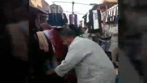 بازار حمیدیه خوزستان استفاده از برگ کاهو بجای ماسک