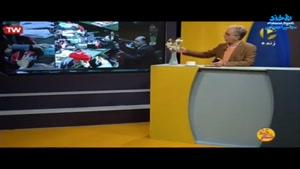 کنایه های جالب رضا رفیع طنزپرداز تلویزیون از ماسک که برماسک
